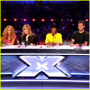 Demi Lovato & Kelly Rowland: 'X Factor' Season 3 Panel Pics!