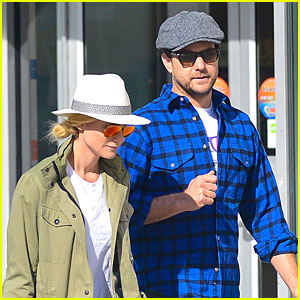Diane Kruger & Joshua Jackson: East Village Shopping Couple!