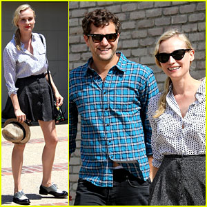 Diane Kruger & Joshua Jackson: Joel Silver's Memorial Day Party!