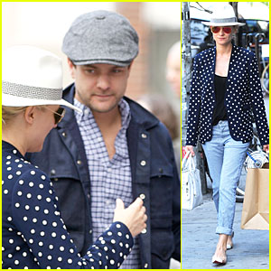Diane Kruger & Joshua Jackson: Lunch After Met Ball!