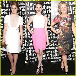Dianna Agron & Emma Roberts: 'These Girls' Presentation!
