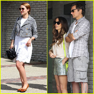 Dianna Agron & Kate Beckinsale: Memorial Day Party!