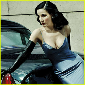 Dita Von Teese: 'Lifestyle Mirror' Photo Shoot & Interview!