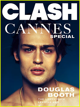 Douglas Booth Covers 'Clash' Magazine Cannes Special