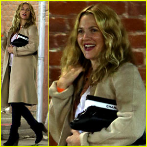 Drew Barrymore Beams After Dinner Date with Will Kopelman