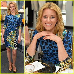 Elizabeth Banks: Vanity Fair & Versace's Vital Voices Luncheon!