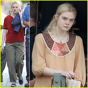 Elle Fanning: 'Low Down' Set with Peter Dinklage!