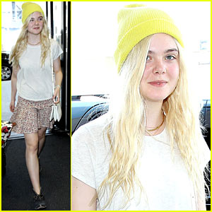 Elle Fanning: See Ya Later, L.A.!