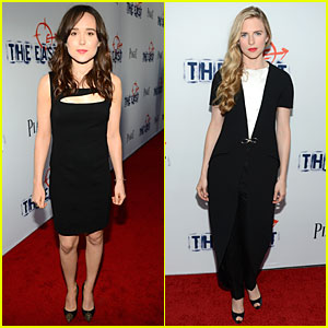 Ellen Page & Brit Marling: 'The East' Hollywood Premiere!
