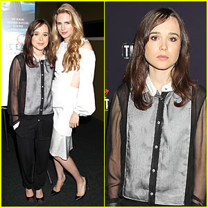 Ellen Page & Brit Marling: 'The East' New York Premiere!