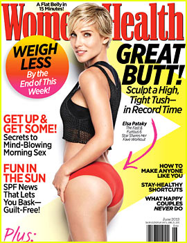 Elsa Pataky: Bikini Body for 'Women's Health' June 2013