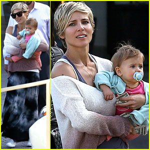 Elsa Pataky Takes India to Lunch with Her Mom