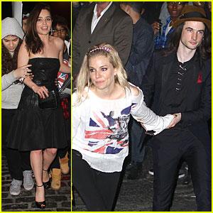 Emilia Clarke & Sienna Miller - Met Ball 2013 After Party!