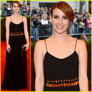 Emma Roberts - Met Ball 2013 Red Carpet