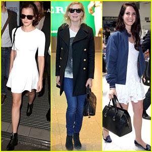 Emma Watson & Lana Del Rey: Cannes Film Festival Bound!