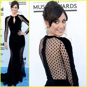 Emmy Rossum - Billboard Music Awards 2013 Red Carpet