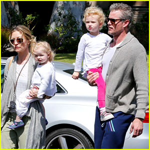 Eric Dane & Rebecca Gayheart: Birthday Party with the Girls