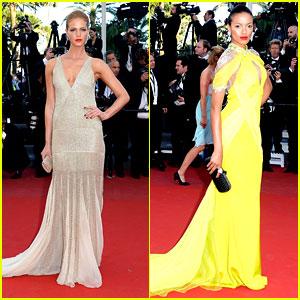 Erin Heatherton & Selita Ebanks: Cannes Film Premieres!