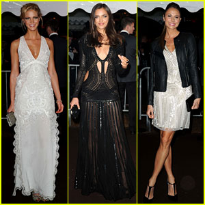 Erin Heatherton & Stacy Keibler: Roberto Cavalli Yacht Party!