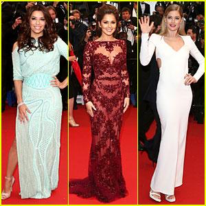 Eva Longoria & Cheryl Cole: 'Jimmy P.' Cannes Premiere!