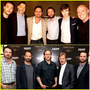Freddie Highmore & Charlie Hunnam: Variety Emmy Studio!
