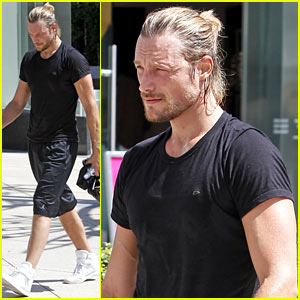 Gabriel Aubry Works it Out At Equinox