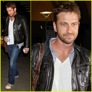 Gerard Butler: From New York to LAX!