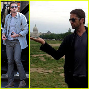 Gerard Butler Shares Personal Washington, D.C. Trip Photos