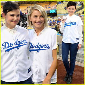 Ginnifer Goodwin & Julianne Hough: Dodgers Girls!