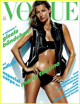 Gisele Bundchen Covers 'Vogue Brasil' June 2013