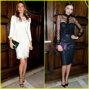 Gisele Bundchen & Miranda Kerr: Harry Josh's #HarrysParty