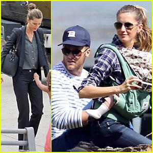 Gisele Bundchen & Tom Brady: Beautiful Day With My Loves!
