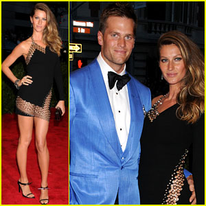 Gisele Bundchen & Tom Brady - Met Ball 2013 Red Carpet