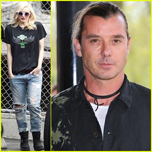 Gwen Stefani Drops Off Zuma, Gavin Rossdale Attends Ivor Novello Awards