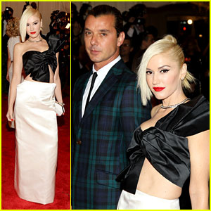 Gwen Stefani & Gavin Rossdale - Met Ball 2013 Red Carpet