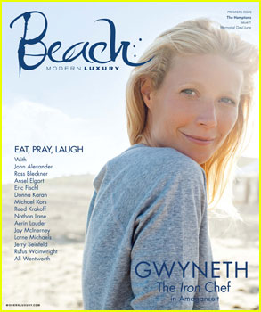 Gwyneth Paltrow Debuts 'Beach' Magazine!