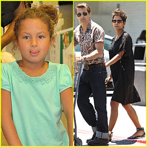 Halle Berry: Bel Bambini Shopping with Nahla!