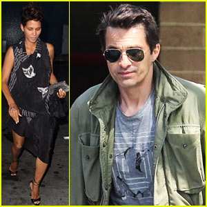Halle Berry & Olivier Martinez: Separate Outings in L.A.!