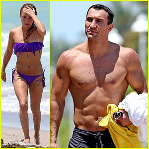 Hayden Panettiere: Miami Bikini Babe with Wladimir Klitschko!