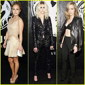 Hayden Panettiere & Taylor Momsen: Versus Versace Launch!
