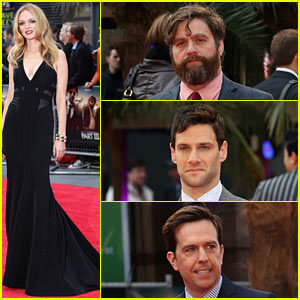 Heather Graham & Zach Galifianakis: 'Hangover Part III' UK Premiere