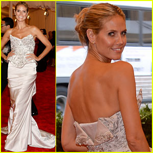 Heidi Klum - Met Ball 2013 Red Carpet