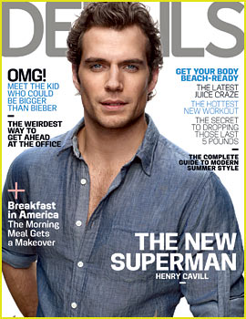 Henry Cavill Covers 'Details' June/July 2013