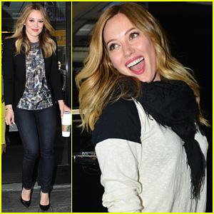 Hilary Duff: 'Good Day New York' Visit!