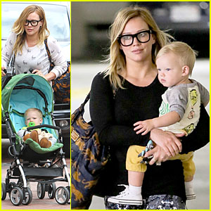 Hilary Duff & Luca: Mommy and Me Class with Mom Susan!