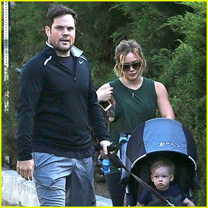 Hilary Duff & Mike Comrie: Family Hike with Luca & Dubois!