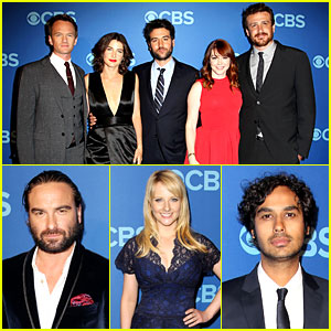 'How I Met Your Mother' & 'Big Bang Theory' Casts: CBS Upfront!