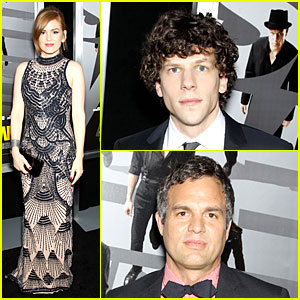 Isla Fisher & Jesse Eisenberg: 'Now You See Me' Premiere!