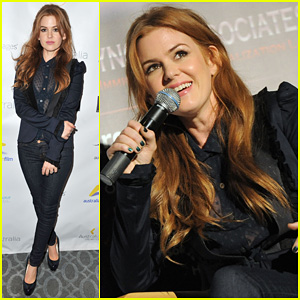 Isla Fisher: 'Now You See Me' AIF Screening!