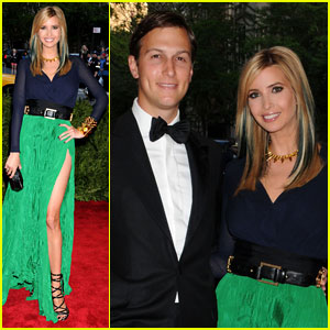 Ivanka Trump & Jared Kushner - Met Ball 2013 Red Carpet